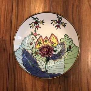 Vintage Chinese Catchall Dish Bowl Wall Decor